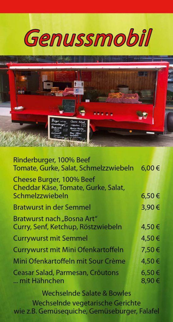 Genussmobil München & Gröbenzell - Mittags-Snacks